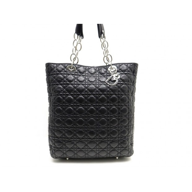 10c6158790a sac a main christian dior lady dior cabas shopping