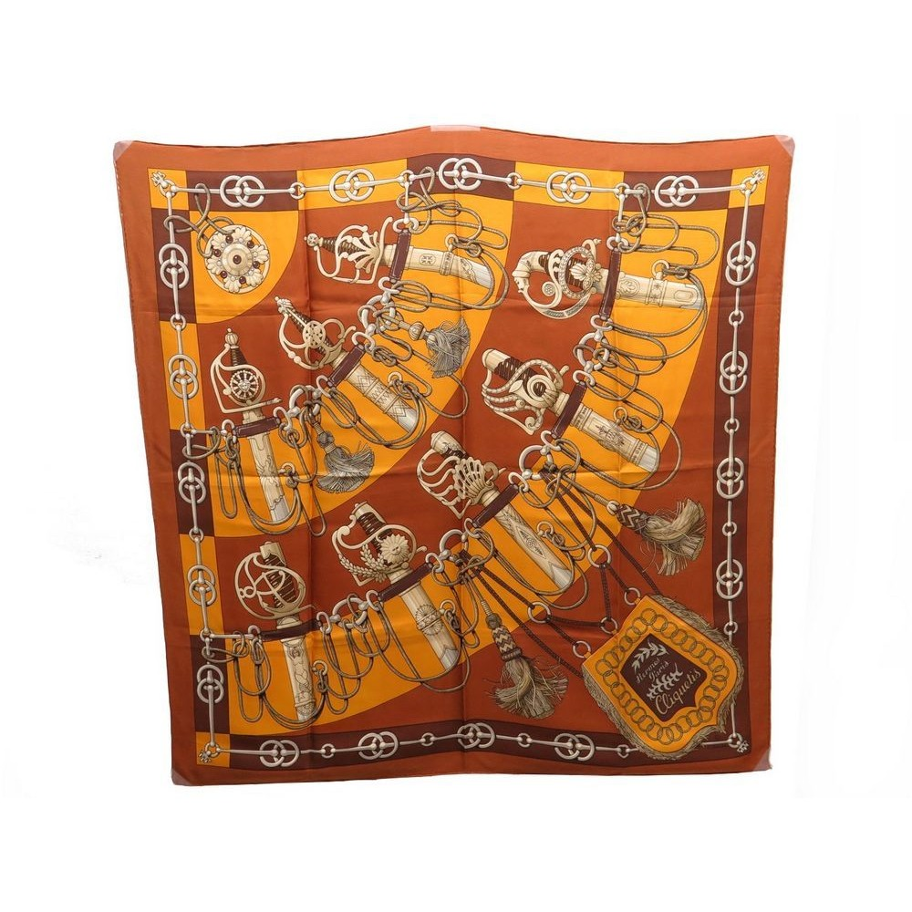 foulard hermes cliquetis julia abadie carre en soie 1f12422b942