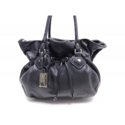 SAC A MAIN MARC BY MARC JACOBS 39 CM EN CUIR NOIR LEATHER HAND BAG PURSE d20fb3ff99a