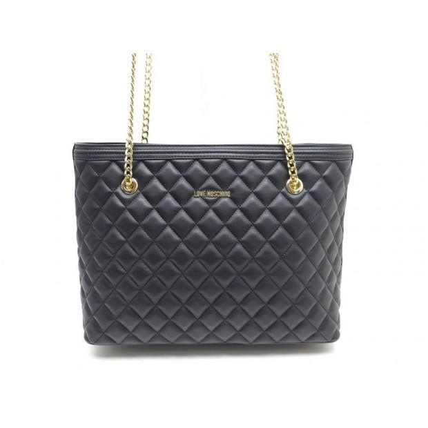 closer at cheapest promo codes sac a main love moschino cabas 36 cm en cuir
