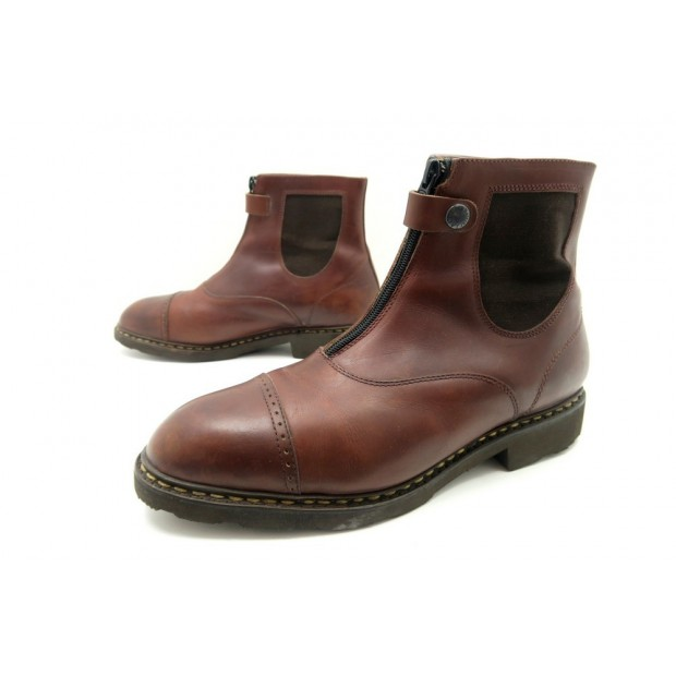 bottines fourrees paraboot bottier 10 chaussures 44 DH2IeW9EY