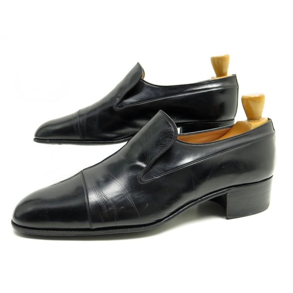 Smoking Noir Mocassins Chaussures Lanvin Cuir 9 Ptoukizx 43 PXiuTOkZw