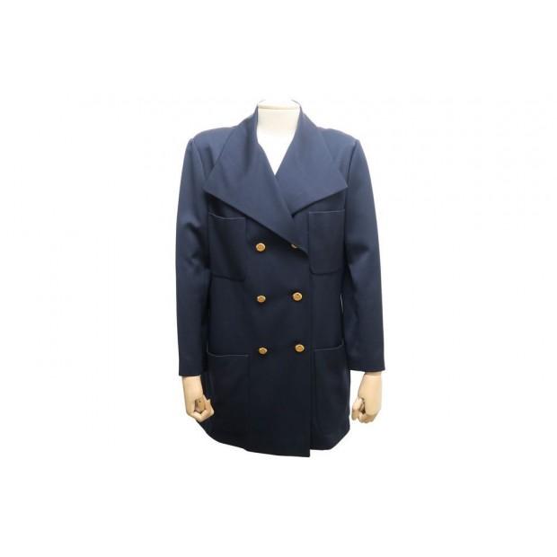 couleur attrayante en ligne à la vente disponible veste longue chanel 21262 42 l caban laine