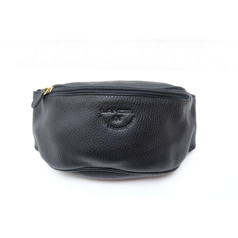 sac a main lancel pochette ceinture banane cuir noir d7339755be9