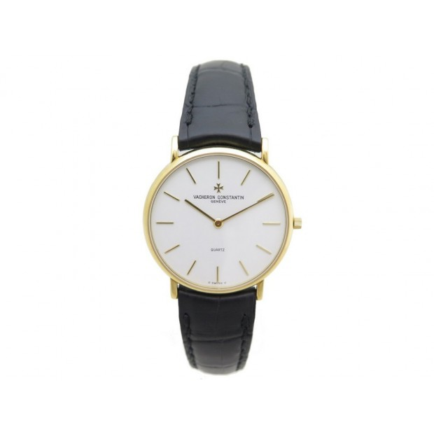 MONTRE VACHERON CONSTANTIN PATRIMONY ULTRA SLIM ULTRAFLACH QUARTZ OR 18K 9500€