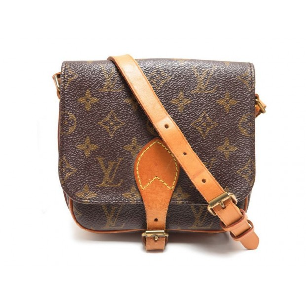 SAC A MAIN LOUIS VUITTON MINI CARTOUCHIERE BANDOULIERE CROSSBODY PURSE BAG 790€