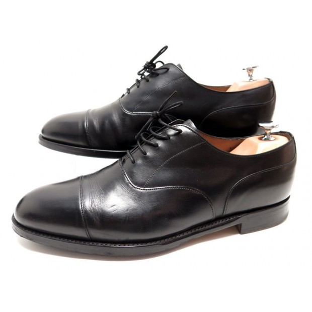 CHAUSSURES JOSEPH CHEANEY HARRINGTON PA019 9.5 43.5 RICHELIEU NOIR SHOES 370€