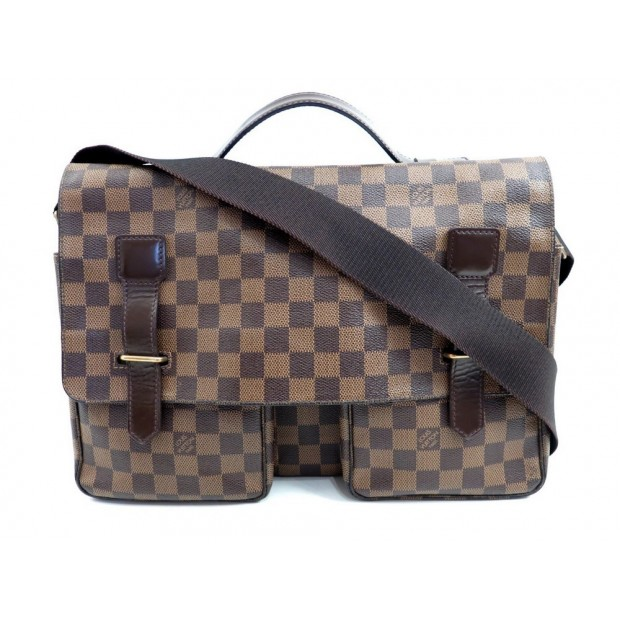 SAC A MAIN LOUIS VUITTON MESSENGER BESACE BANDOULIERE DAMIER EBENE PURSE 1370€