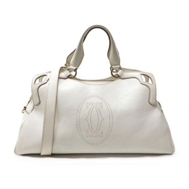 sac a main cartier marcello pm en cuir blanc white 2d754a4ccf92b