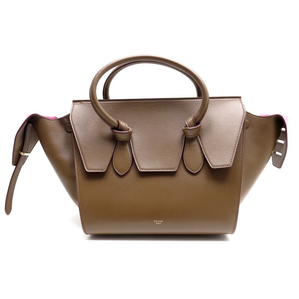 Sac A Main Celine Tie Bag Mini 175883 Cuir 6bd2ad03759ac