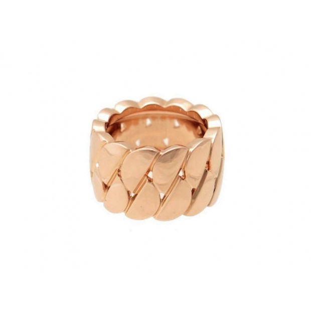 BAGUE CARTIER LA DONNA EN OR ROSE 18K LARGEUR 13MM + BOITE PINK GOLD RING 4750€