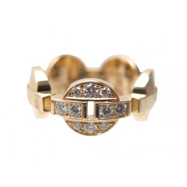 NEUF BAGUE CARTIER HIMALIA 54 EN OR JAUNE 18K & 10 DIAMANTS DIAMONDS RING 5500€