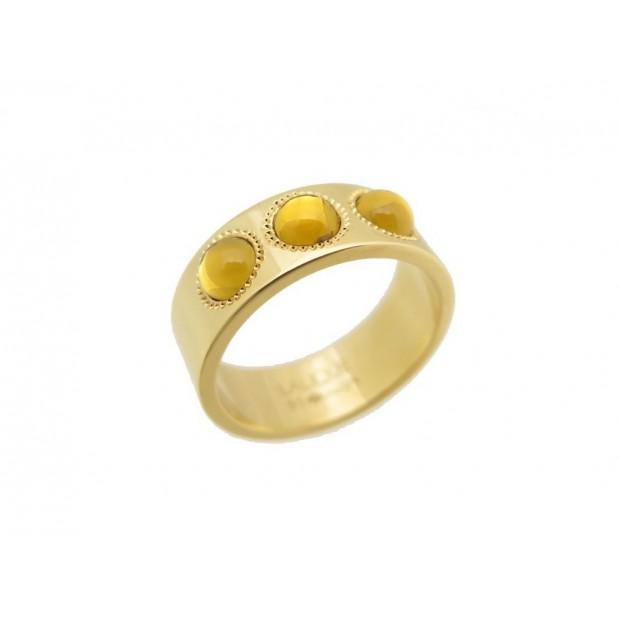 bague or jaune 3 pierres