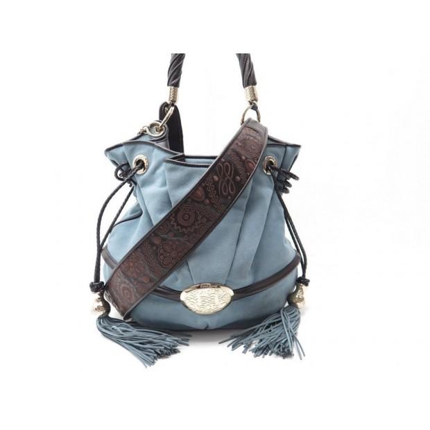 844a736695 sac a main lancel brigitte bardot bb cabas daim bleu