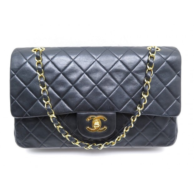 eaba19be51e sac a main chanel timeless 2.55 26 cm double flap en