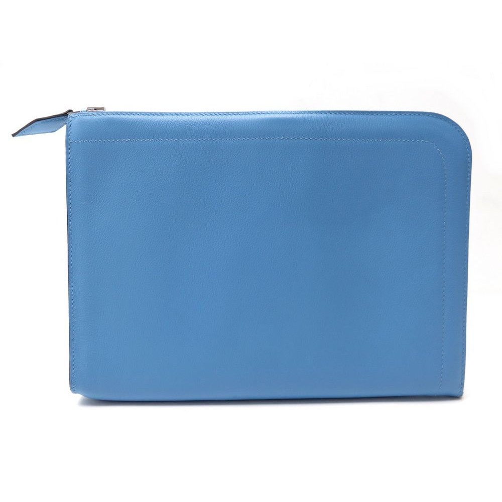 71a43121b61c NEUF SAC POCHETTE A MAIN HERMES PR TABLETTE PC CUIR NEGONDA LAPTOP SLEEVE  2300€. Loading zoom