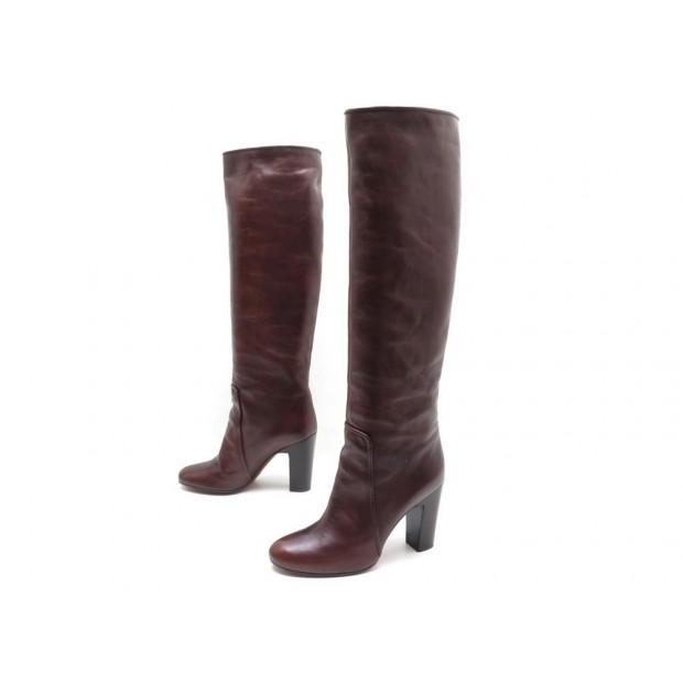 qualité fiable fabrication habile haut fonctionnaire chaussures michel vivien kid 2 38 bottes en cuir