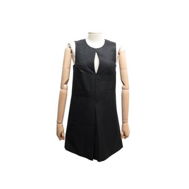 ROBE GUCCI S 40 IT 36 FR COTON & SOIE NOIR FEMME COTTON SILK BLACK DRESS 1000€