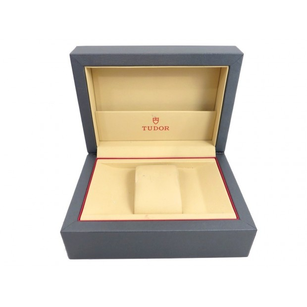 BOITE POUR MONTRE TUDOR PRINCE DATE ROTOR 79410P EN TISSU CUIR + SUR BOITE BOX
