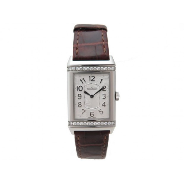 NEUF MONTRE JAEGER LECOULTRE GRANDE REVERSO LADY ULTRA THIN 3208423 WATCH 6400€