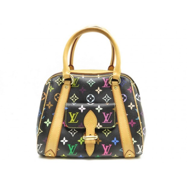 NEUF SAC A MAIN LOUIS VUITTON PRISCILLA TOILE MONOGRAM MULTICOLOR HAND BAG 1350€