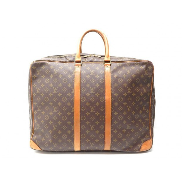 Vintage Valise A Main Louis Vuitton Sirius 55 Sac De Voyage Monogram Bag 1300
