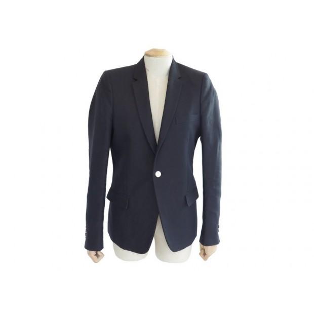 la meilleure attitude 56055 b57cf veste the kooples s 44 homme en coton lin bleu