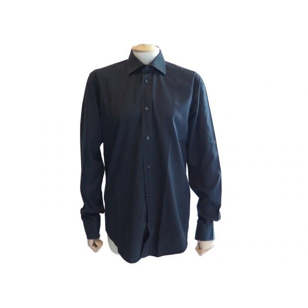 grossiste c23fa b36ac chemise hermes boutons clous de selle 37 s en coton
