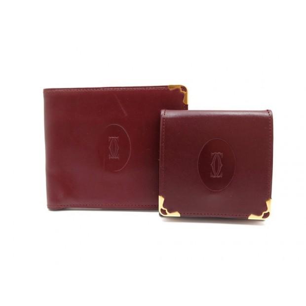 nouveaux styles 21a76 e24ca porte monnaie porte cartes must de cartier