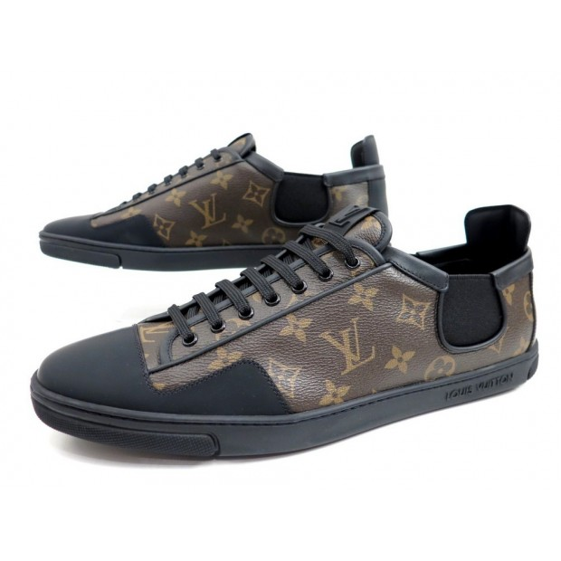 chaussures louis vuitton slalom baskets 10.5 44.5 069649756e6