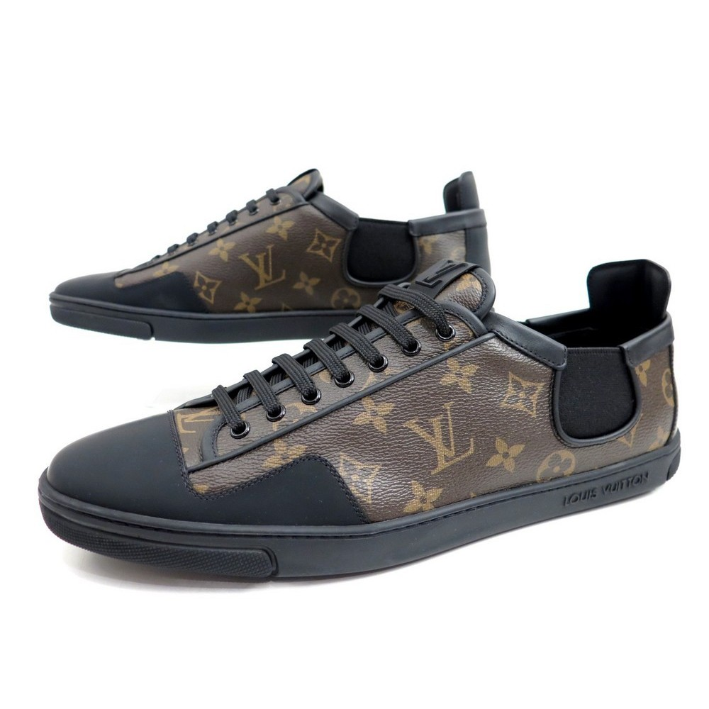1cfc3c2fe59d NEUF CHAUSSURES BASKET LOUIS VUITTON TOILE MONOGRAMME HOMME 10.5 44.5 45.  Loading zoom