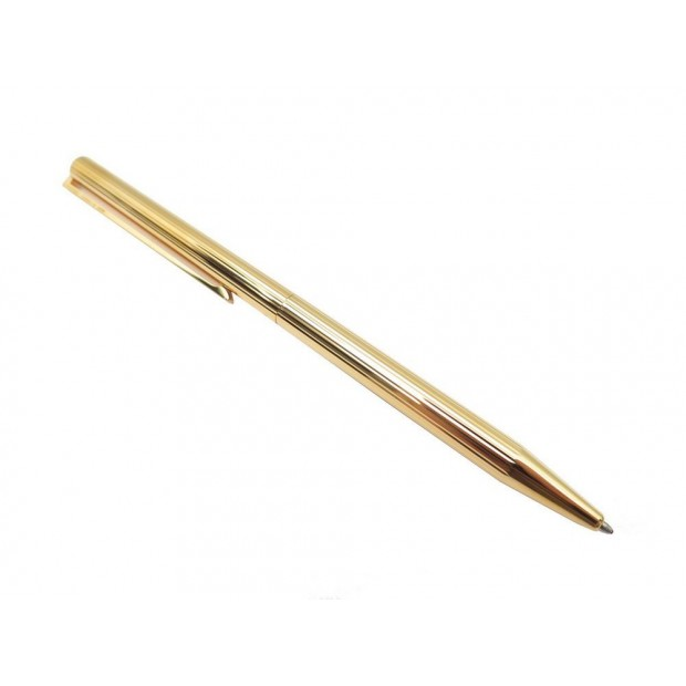NEUF STYLO BILLE ST DUPONT CLASSIQUE 045071N PLAQUE OR BOITE ROLLERBALL PEN 220€