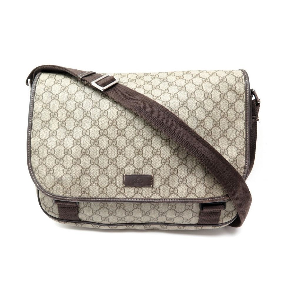 1a56404ce403 SAC A MAIN GUCCI BESACE BANDOULIERE TOILE MONOGRAMMEE. Loading zoom