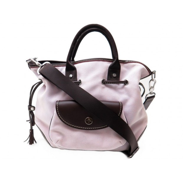 Lancel A Cabas Miss Main Parme Toile Tote Sac ygIfv6Yb7