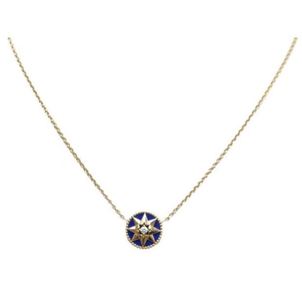 Collier Dior Rose Des Vents Diamant Lapis Lazuli