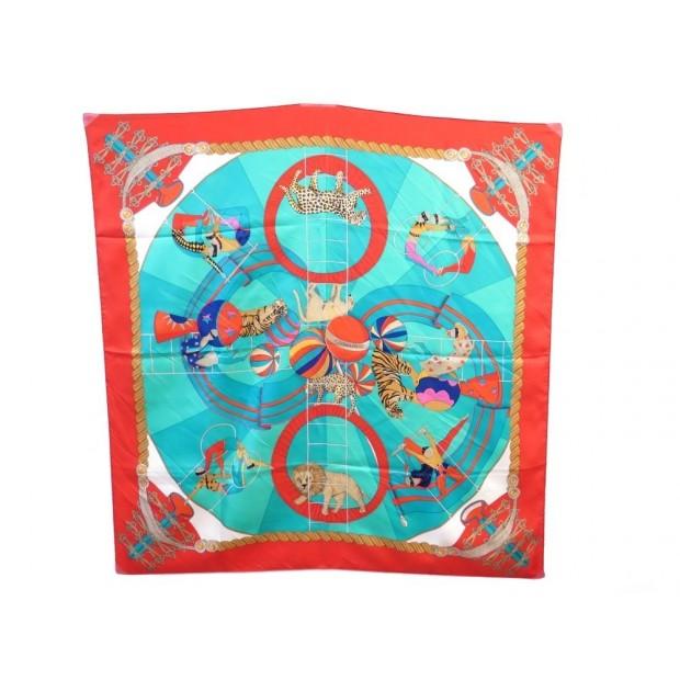 foulard hermes circus annie faivre cirque carre soie 09c9b491771