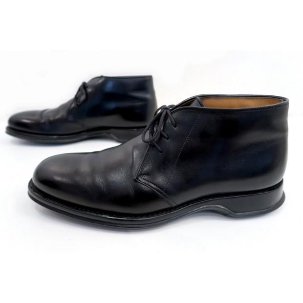 durham chukka 10f 44 en cuir noir