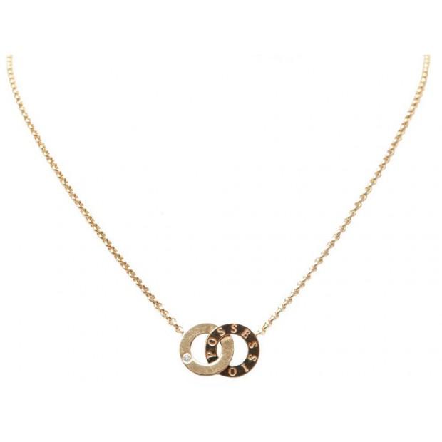 COLLIER PIAGET POSSESSION YOU & ME EN OR JAUNE DIAMANT DIAMOND NECKLACE 2700€