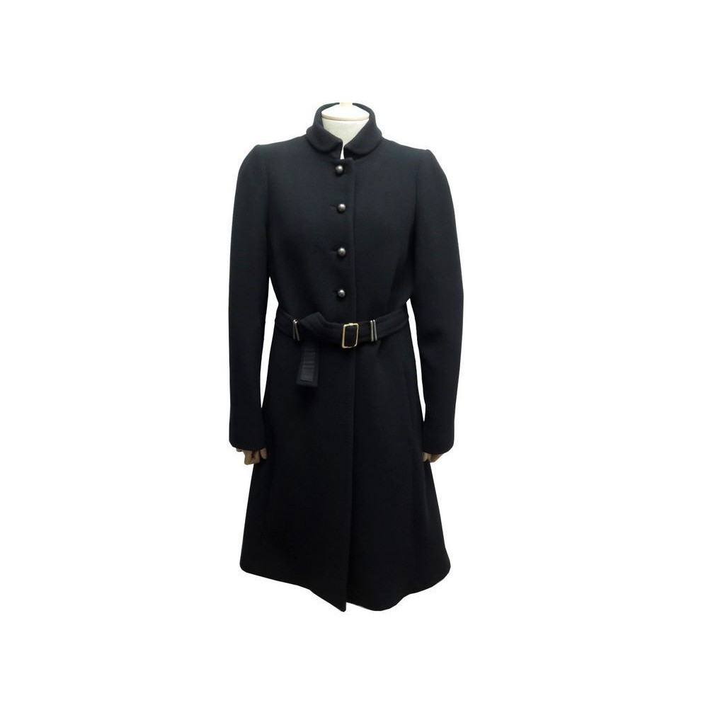 MANTEAU FENDI FEMME 44 IT 40 FR M LAINE VIERGE NOIRE VESTE JACKET COAT  1900€. Loading zoom f1f4c2228c2