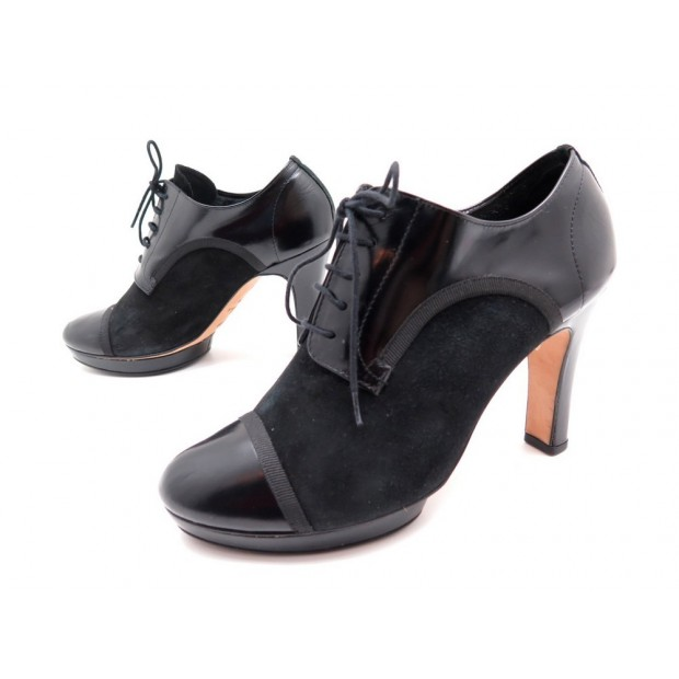 5 Daim Escarpins En Repetto Chaussures Cuir 37 Noir EH2IeD9YW