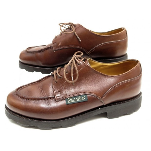 grande vente deb90 85e79 chaussures paraboot chambord derby 3.5 37 cuir marron