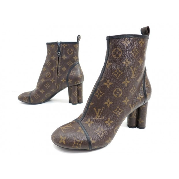 NEUF CHAUSSURES LOUIS VUITTON NEW REVIVAL ANKLE BOOT 41 BOTTINES SHOES 1100€