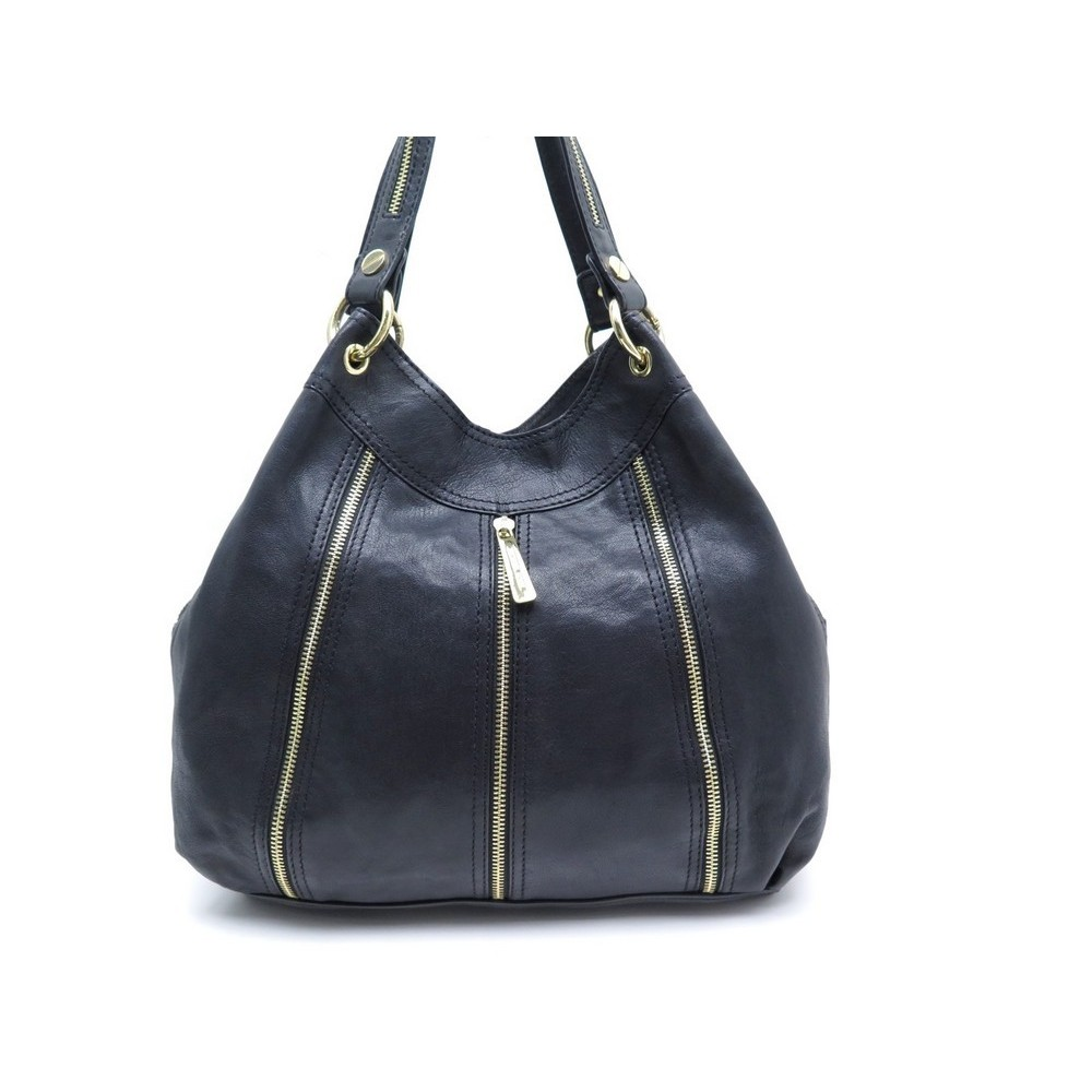 6b47b062236f sac a main michael kors moxley mm en cuir noir leather