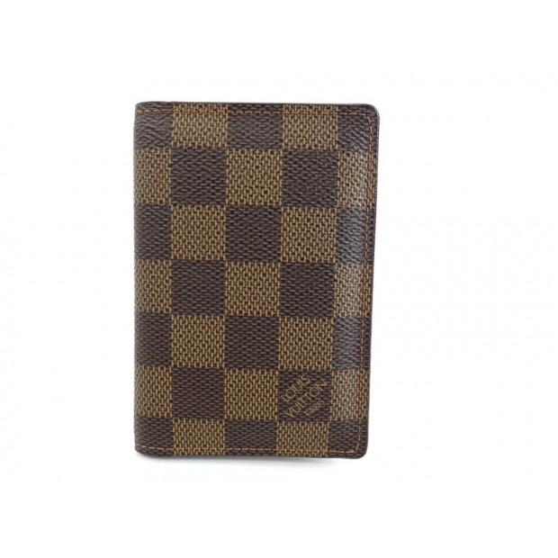 détaillant en ligne 93b28 d2734 porte carte louis vuitton de posh damier ebene