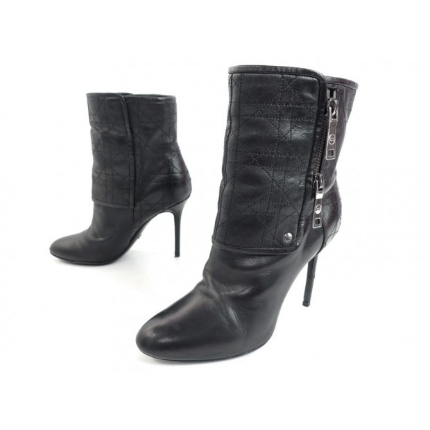 CHAUSSURES CHRISTIAN DIOR BOTTINES A TALONS 37.5