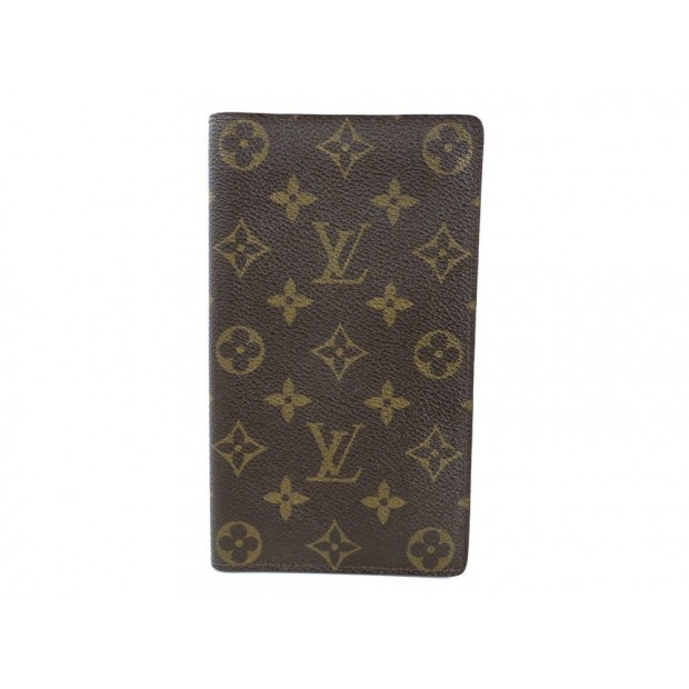 VINTAGE PORTE CHEQUIER LOUIS VUITTON MONOGRAM PORTE CARTE CARDS HOLDER 340€