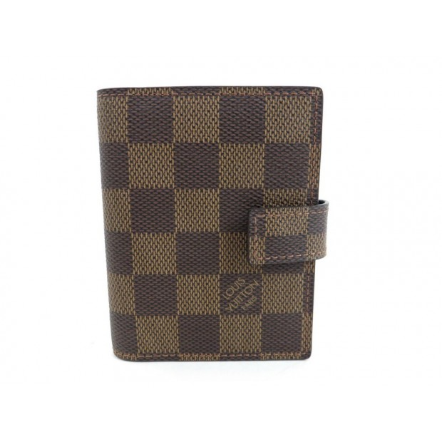 NEUF COUVERTURE MINI AGENDA LOUIS VUITTON DAMIER EBENE BLOC NOTE DIARY 355€
