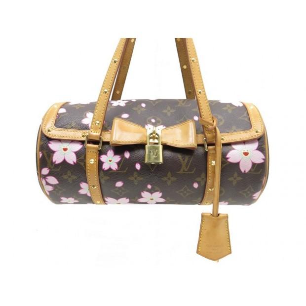site réputé 99cb7 39bca sac a main louis vuitton papillon cherry blossom en