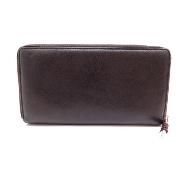 PORTEFEUILLE YVES SAINT LAURENT 248317 CUIR MARRON LEATHER WALLET BILLFOLD 545€