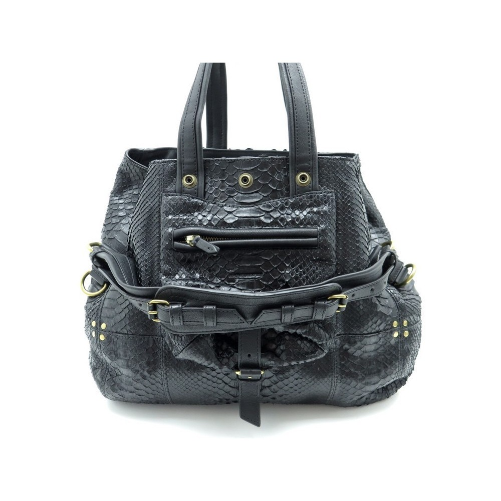 A Noir Sac Main Jerome Dreyfuss Billy Python M F417qwA1